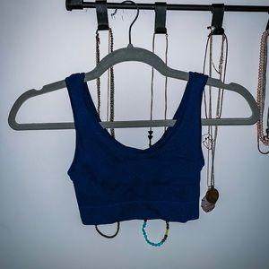 Womens Gilligan & O'Malley seamless sports bra